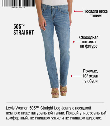 Levis Women 505™ Straight Leg