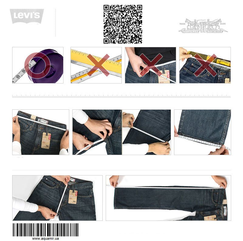 100% guaranteed original and authentic products Levi's in Ukraine