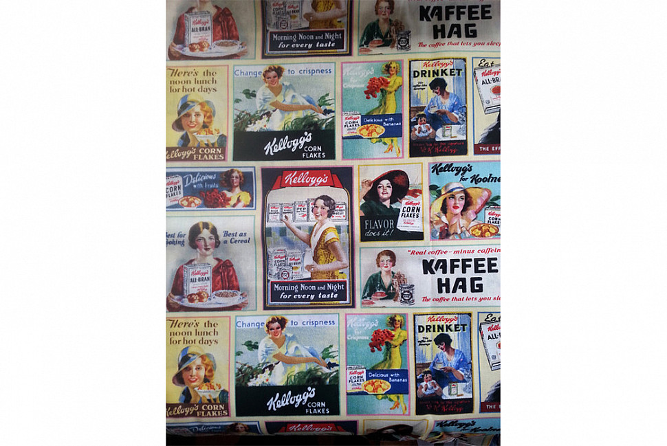 Реклама компании Kellogg's.  Источник изображения: 2 Creative Peas in a Pod