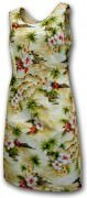 Pacific Legend Hawaiian Short Tank Dress - 315-3238 Maize