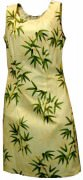 Pacific Legend Hawaiian Short Tank Dress - 315-3317 Yellow