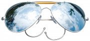 Rothco Aviator Air Force Style Sunglasses Mirror Lenses 10201