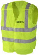 Rothco Security 5-Point Breakaway Safety Vest Safety Green 8457