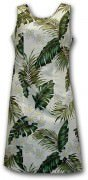 Pacific Legend Hawaiian Short Tank Dress - 315-3319 Cream