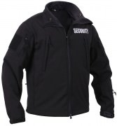 Rothco Special Ops Soft Shell Security Jacket Black - 97670