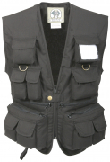 Rothco Kid's Uncle Milty's Travel Vest Black