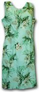 Pacific Legend Hawaiian Short Tank Dress - 315-3359 Sage