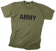 Rothco Kids Army Physical Training T-Shirt Olive 66136
