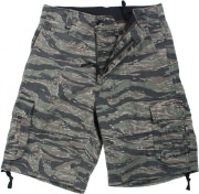 Rothco Vintage Infantry Utility Shorts - Tiger Stripe Camo - 2214
