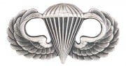 Rothco U.S. Armed Forces Breast Badge - Basic Parachutist # 1544