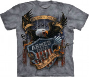 The Mountain T-Shirt Armed Forces 104886