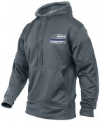 Rothco Thin Blue Line Concealed Carry Hoodie Grey 52075