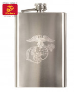 Rothco Engraved Stainless Steel Flasks Marines 631