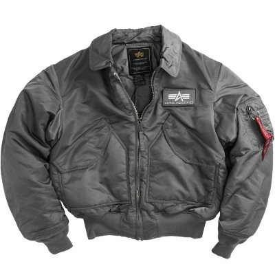 Скидка на куртку Alpha Industries CWU 45/P Flight Jacket Gun Metal, фото