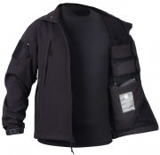 Rothco Concealed Carry Soft Shell Jacket Black 55385
