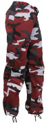Rothco Womens Paratrooper Pant Red Camo 3782