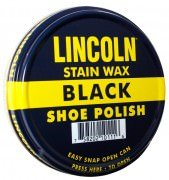 Lincoln U.S.M.C. Stain Wax Shoe Polish - Black # 10110