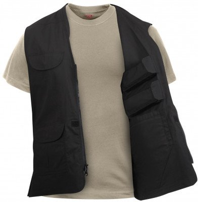 Жилет Rothco Lightweight Professional Concealed Carry Vest Black 86705, фото