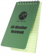 "Rothco All Weather Waterproof Notebook 4"" x 6"" 4603"