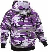 Rothco Pullover Hooded Sweatshirt Ultra Violet Camo 4790