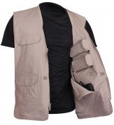 Rothco Lightweight Professional Concealed Carry Vest Khaki 86700