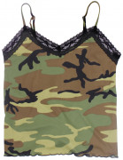 Rothco Women Lace Trimmed Camisole Woodland Camo 5490
