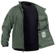 Rothco Concealed Carry Soft Shell Jacket Olive Drab 55585