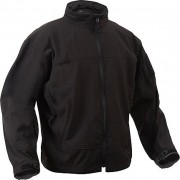Rothco Covert Ops Light Weight Soft Shell Jacket Black - 5262