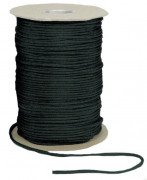 Rothco Nylon Paracord 550lb 1000 Ft Spool Black 304