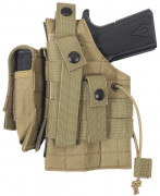 Rothco MOLLE Modular Ambidextrous Holster Coyote Brown 10479