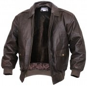 Rothco Classic A-2 Leather Flight Jacket Brown 7577