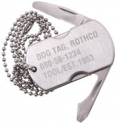 Rothco Dog Tag Multi-Tool Silver 5269