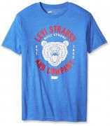 Levis Mens Juggler T-Shirt Royal Heather
