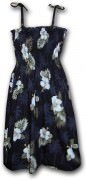 Pacific Legend Hawaiian Tube Dress - 332-2798 Black