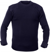 Rothco GI Style Acrylic Commando Sweater Navy Blue 6347