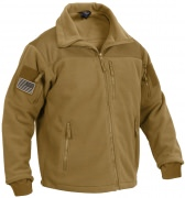 Rothco Spec Ops Tactical Fleece Jacket Coyote Brown 96680