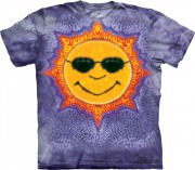 Футболка The Mountain - Sun Tie Dye