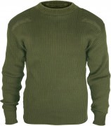 Rothco Government Type Wool Commando Sweater Olive Drab 6348