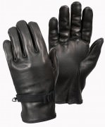 Rothco D-3A Leather Gloves Black 3383