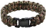 Rothco Multi-Colored Paracord Bracelet Woodland Camo 933