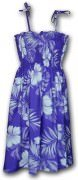Pacific Legend Hawaiian Tube Dress - 332-3589 Purple