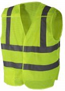 Rothco 5-point Breakaway Safety Vest Safety Green 9564