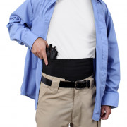 Rothco Ambidextrous Concealed Elastic Belly Band Holster 10769