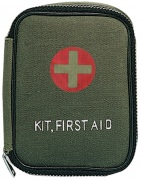 Rothco Military Zipper First Aid Kit Pouch Olive Drab - 8325