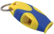 Fox 40 Sharx Safety Whistle w/Lanyard Yellow/Blue