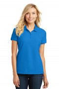 Port Authority Ladies Core Classic Pique Polo Coastal Blue