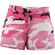 Rothco Women's Military Shorts Pink Camo 3196