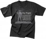 Rothco Vintage ''It's Our Right'' T-Shirt 66137