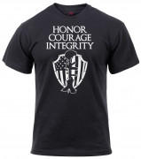 Rothco Honor Courage Integrity Athletic Fit T-Shirt 2913