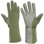 Rothco G.I. Type Flame & Heat Resistant Flight Gloves Olive Drab 3457